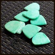 Jazzy Tones - Green Bone - 1 Guitar Pick | Timber Tones
